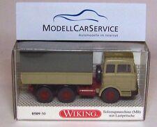 Wiking Sondermodell: 050950 Mercedes-Benz 2223 Moteur de Camion Lourd,Gris Olive