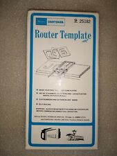 Sears Craftsman Router Template Full Set Letters Numbers Punctuation 925182