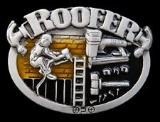 Roofer Belt Buckle Construction Worker Roofer Equipment Boucle De Ceinture