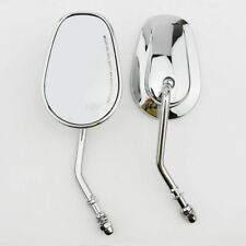Motorcycle Chrome Rear View Mirrors For Harley Sportster Softail Dyna Touring