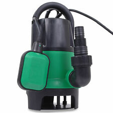 NEW ELECTRIC 400W HOME GARDEN SUBMERGED DIRTY CLEAN FISH POND UTILITY WATER PUMP
