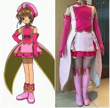 Card Captor Sakura Movie Cosplay Costume