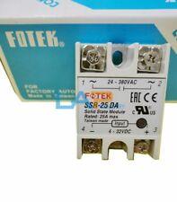 1PCS New For FOTEK Soild State Relay SSR-25 DA 24~380VAC 25A max