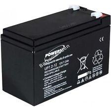 Powery Blei-Gel-Akku für USV APC Back-UPS ES 700 12V 7,2Ah/86Wh Lead-Acid Schwar