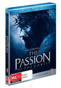 The Passion Of The Christ (Blu-ray, 2010, 2-Disc Set) : NEW