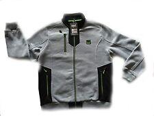 Everlast Zip Completa Uomo Felpa Con Cappuccio Grigio/Nero/Verde Taglia L