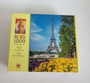 Big Ben MB Eiffel Tower 1000 Piece Puzzle Sealed