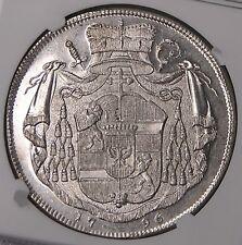 Salzburg 1796 Hieronymus Silver Thaler NGC MS62