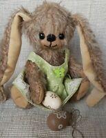 Bastelset Hasenmädchen *Jelly*, 15 cm von *gelibären*