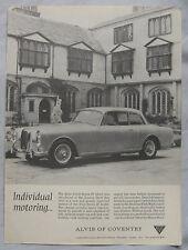 1966 Alvis 3-litre series III Original advert