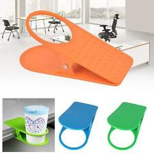 1pc plastic Desk Table Holder Clip Home Office supplies Drink Cup Coffee Mug GH