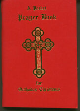 Pocket Prayer Book for Orthodox Christians -Red Vinyl Cover (3.5 x 5 inches)-NEW