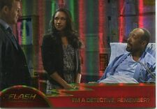 The Flash Season 1 Foil Parallel Base Card #09 I?m A Detective, Remember?