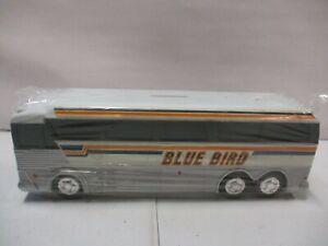 Charter Bus Bank Blue Bird