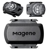 Bicycle Bike ANT+ Bluetooth Wireless Speed Cadence Sensor For Garmin Bryton