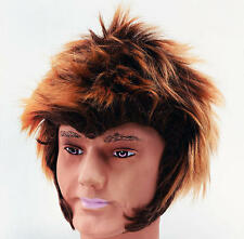 Wolf Man Werewolf Wig Fancy Dress Unisex