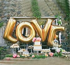 LOVE Balloon Set Bridal Shower Party Valentines Birthday Wedding Decoration Home