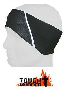 Raptor Tough Mudder/Event/Iron Man Fleece Lined Sweatband Headband/Ears Warmer