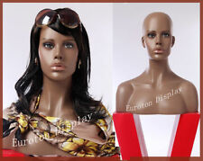 NHFO  Eurotondisplay Dekokopf Perückenkopf Schaufensterpuppe Mannequin Weiblich