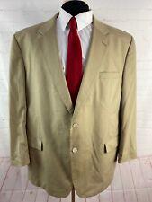 Jos A. Bank Men's Beige Cotton Blend Blazer 44R $695