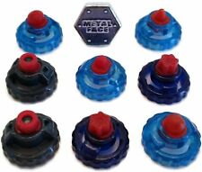 Beyblade Special RUBBER Tips Pack Lot Set Parts + METAL FACE Bolt - USA SELLER!