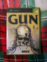 GUN the Game Microsoft Xbox 2005 CLEAN TESTED AND WORKING