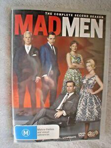 DVD BOX SET MAD MEN 3 DVD SET COMPLETE 2 ND SEASON