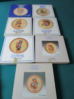 HUMMEL ANNUAL PLATES CHOICE 1977, 1979,1980,1982,1983,1985,1986 pick one NIB