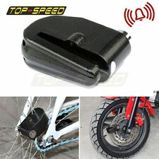 Motorcycle Bike Scooter Anti-theft Brake Disc Wheel Alarm Security Lock Loud Top