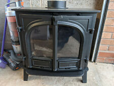 STOVAX STOCKTON 8 WOOD BURNING AND MULTI-FUEL STOVE IN GOOD WORKING ORDER