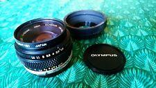 Olympus OM-System Zuiko 50mm f:1.8 Standard Lens