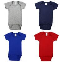 Newborn Girl Boy Baby Bodysuit Cotton Short Sleeve Romper Jumpsuit Clothes US