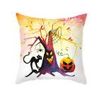 "2021 18"" Halloween Pumpkin Cartoon Cushion Cover Pillow Case Sofa Home Decor Uk"