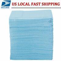 500PCS Disposable Dental Bibs Patient Tissue 2 Ply Tissue Waterproof Towel HOT