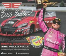2016 Erica Enders signed Transportation Impact Dodge Dart PS SEMA NHRA postcard