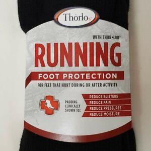 THORLOS Running Crew Socks XL NEW - Black-