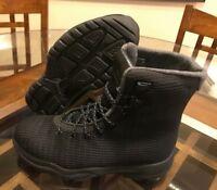 $225 Nike Air Jordan Future Boot Black Dark Grey Waterproof 854554-002 Size 8.5