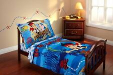 Disney Jake and the Neverland Pirates 4-Piece Toddler Bed Set