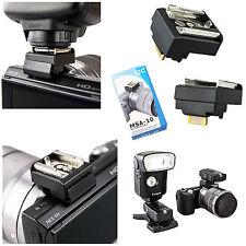 Adattatore slitta flash hot shoe per Sony NEX-3N adapter JJC MSA-10 NEX3N