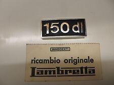 "RARO Innocenti Lambretta GP/DL "" dl150"" BLOQUE DL 150 Placa N. O. S"