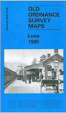 OLD ORDNANCE SURVEY MAP LOOE 1905