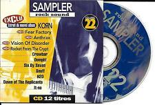CD CARDSLEEVE COLLECTOR 12T KORN/FEAR FACTORY/ANTHRAX/CROWBAR/SNUFF/SIX BY SEVEN