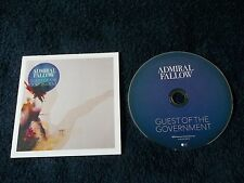 Promo CD, ADMIRAL FALLOW - Guest Of The Government, 1 Track Single 2012 Nettwerk