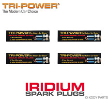 IRIDIUM SPARK PLUGS - for Kia Soul 1.6L AM (G4FC) TRI-POWER