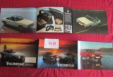 N°4082  / catalogue SCIMITAR GTE et GTC  / The Reliant motor company