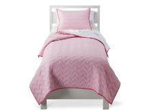 Circo Pink Quilt Set - Quilt and Pillow Sham Twin New NWT