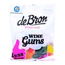 100g Sugar Free Wine Gums sweets de Bron -  Diabetic Friendly. prepacked