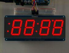 "Adafruit 1.2"" 4-Digit 7-Segment Display w/I2C Backpack - Red"