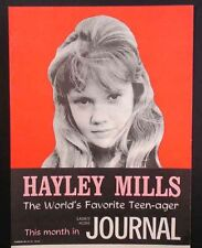 1962 Advertising Poster - HAYLEY MILLS at 16, Great Image