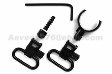 "Uncle Mike's Most 16 Gauge / .750"" - .800"" Sling Swivels 1"" #1595-2"